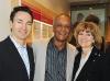Keith Stein (Heenan and Blaikie), Navin Chandaria (president & CEO Conros Corporation) and Debbie Haryett (Beyond Nutrition)