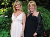Actress and loyal Face the World Foundation supporter Goldie Hawn joins Jacqui Cohen.