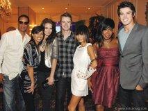 "Damon Allen CFL alumni, Rachel Smith, Miss USA, Shantel VanSanten, actor Robert Buckley (Lipstick Jungle), actress Bai Ling (Star Wars ""Revenge of the Sith""), actress Tichina Arnold (Everybody Hates Chris) and actor Adam Gregory (90210)."
