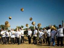 Upon the rich soil of an Italian vineyard, the Tenute Rubino team celebrates 20 years of successful wine making.