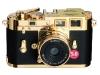 Leica's trendy M3 Gold Digital camera.