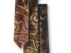 Floral printed Zegna tie.