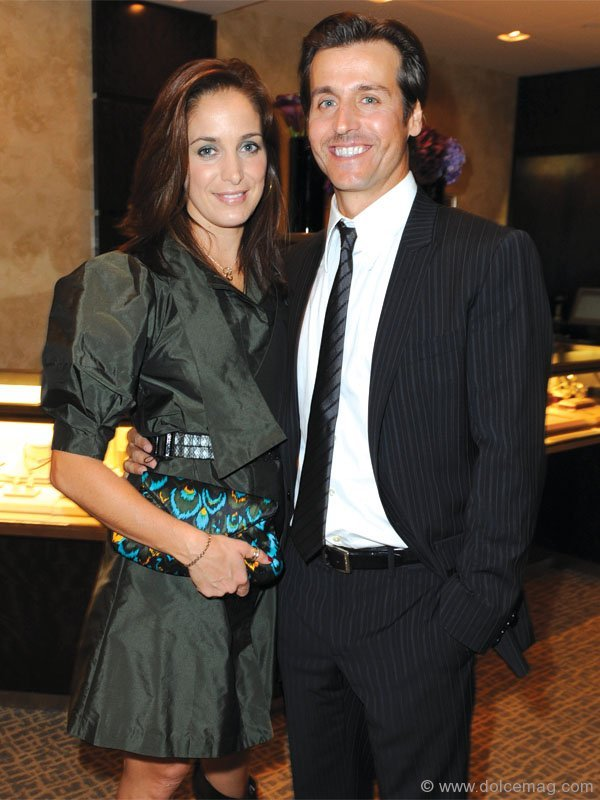 2009 Tiffany Mark Award recipients Chantal Kreviazuk and Raine Maida
