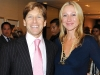 Cosmetic plastic surgeon Dr. Trevor Born and Belinda Stronach.