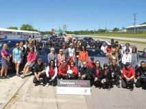 Women's Driver Development Day was a smashing success, raising funds for a good cause