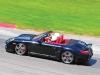 Women receive expert training on how to properly drive a Porsche