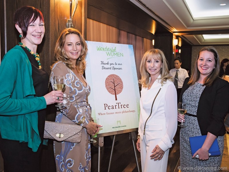 Marianne Jenkevice, Marilyn Anthony, Renee Bleeman and Aisling MacKnight