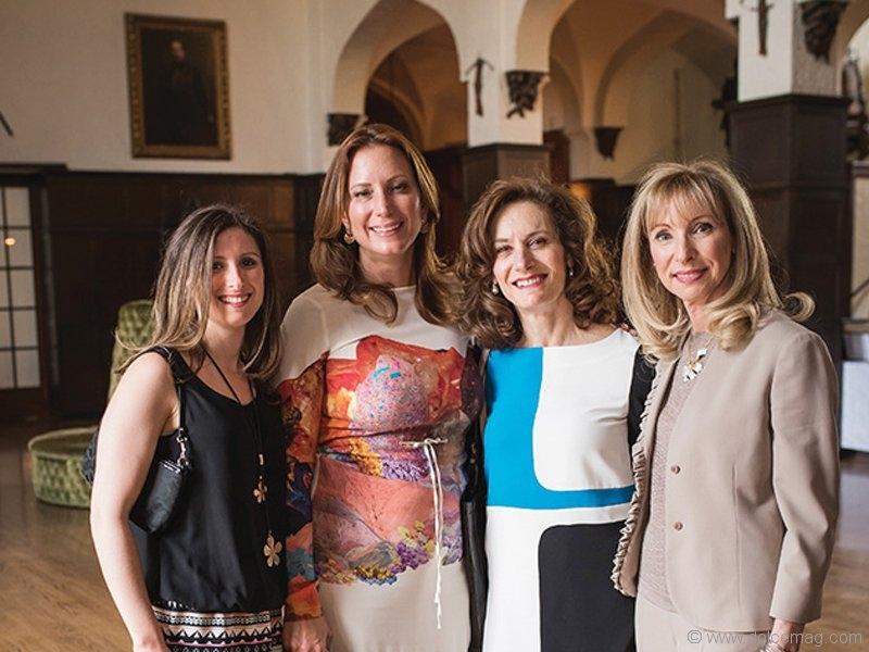 Rebecca Schwartz, Marilyn Anthony, Lisa Davis and Renee Bleeman