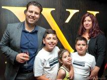 The Graci family: Ben, Benedetto, Chiara, Dante and Angela