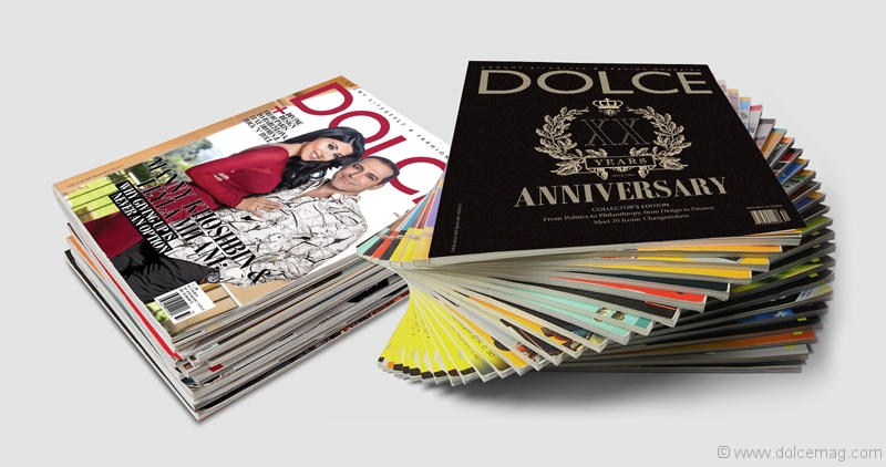 Dolce Vita Magazine Covers