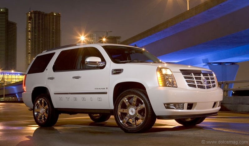 cadillac escalade hybrid dolce luxury magazine. Cars Review. Best American Auto & Cars Review