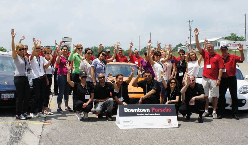 Downtown Porsche Grand Opening Amp Women S Track Day Dolce