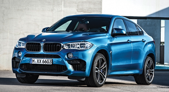 bmw X6 M – An animal of power and practicality