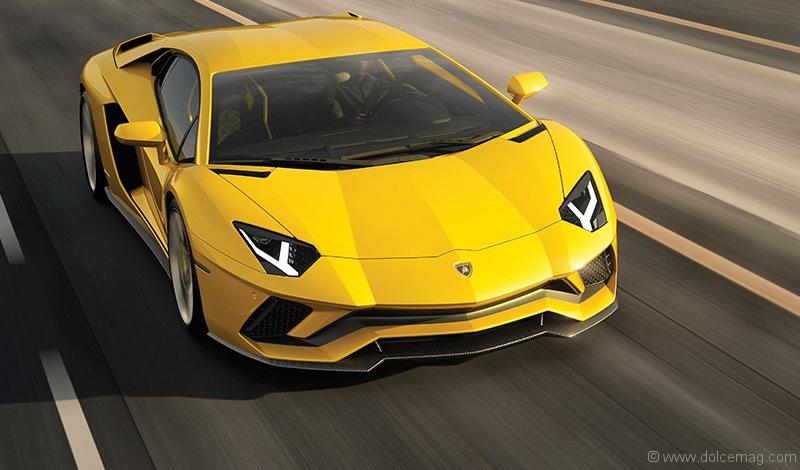 The Advent Of The Lamborghini Aventador S Dolce Luxury Magazine