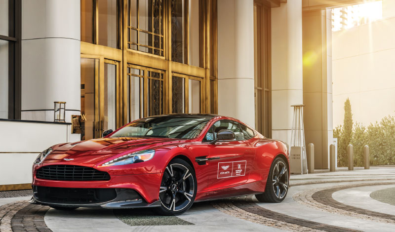 Aston Martin And Waldorf Astoria Beverly Hills Dolce Luxury Magazine