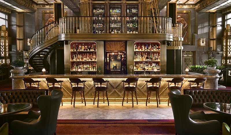 Singapore S Grand Destination Atlas Lobby Bar Dolce