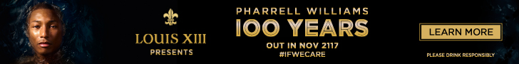 Pharrell Williams 100 Years