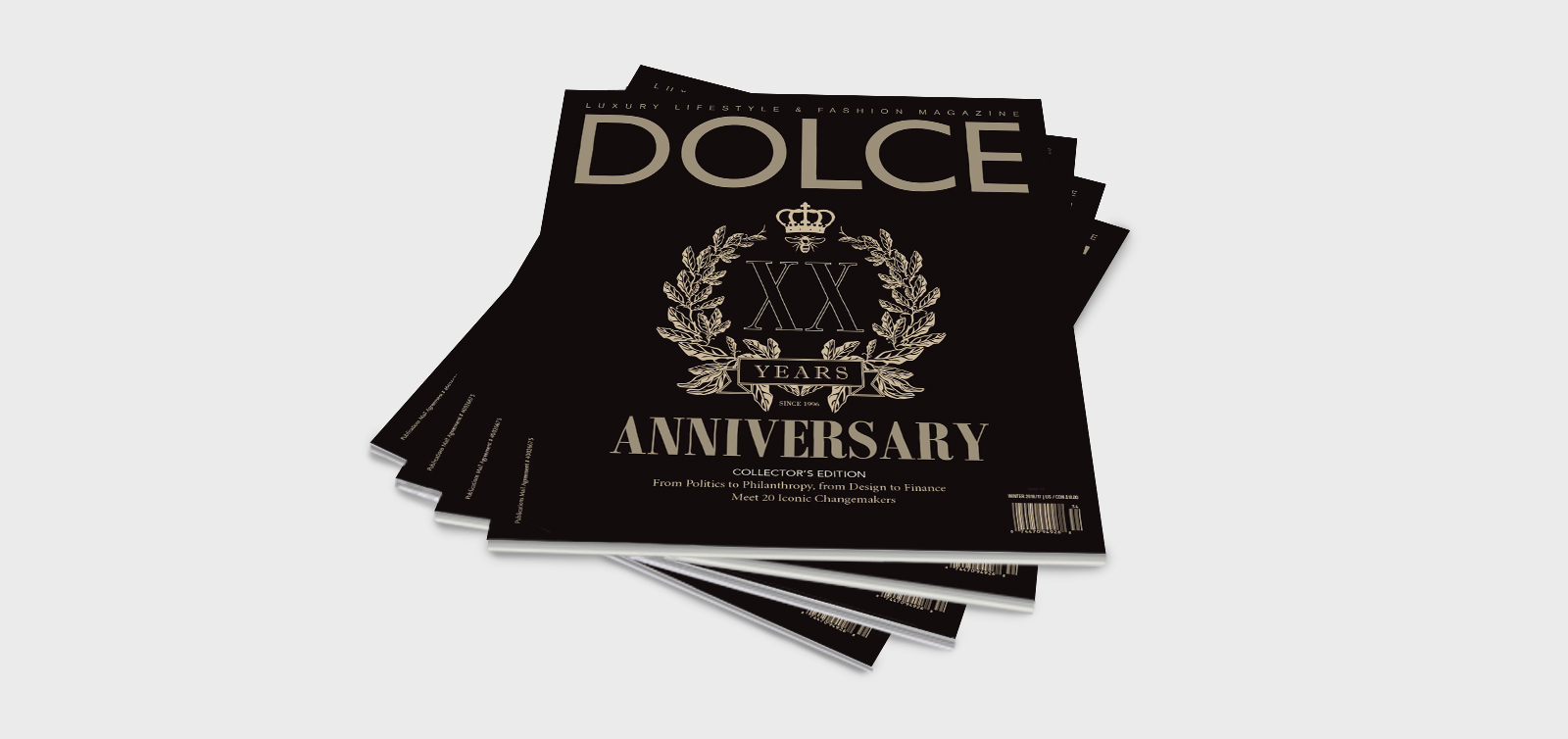 Dolce Magazine Covers